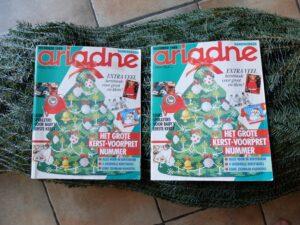 Twee Ariadnes kerstboom