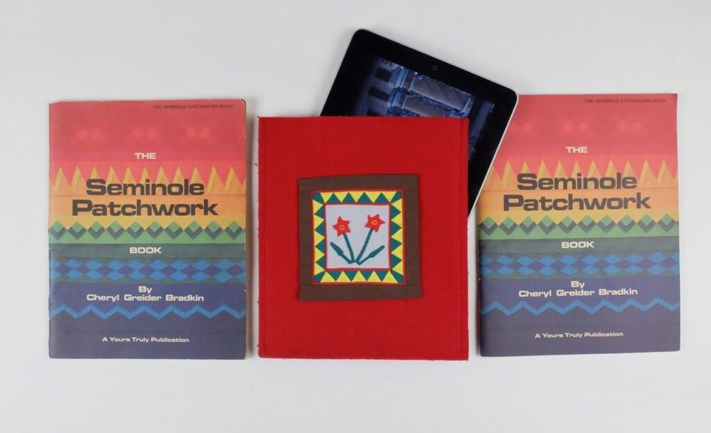 Twee boeken Seminole patchwork