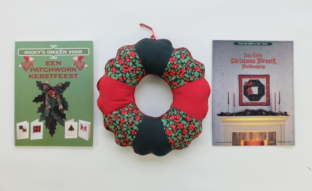 Twee boeken over patchwork voor kerst