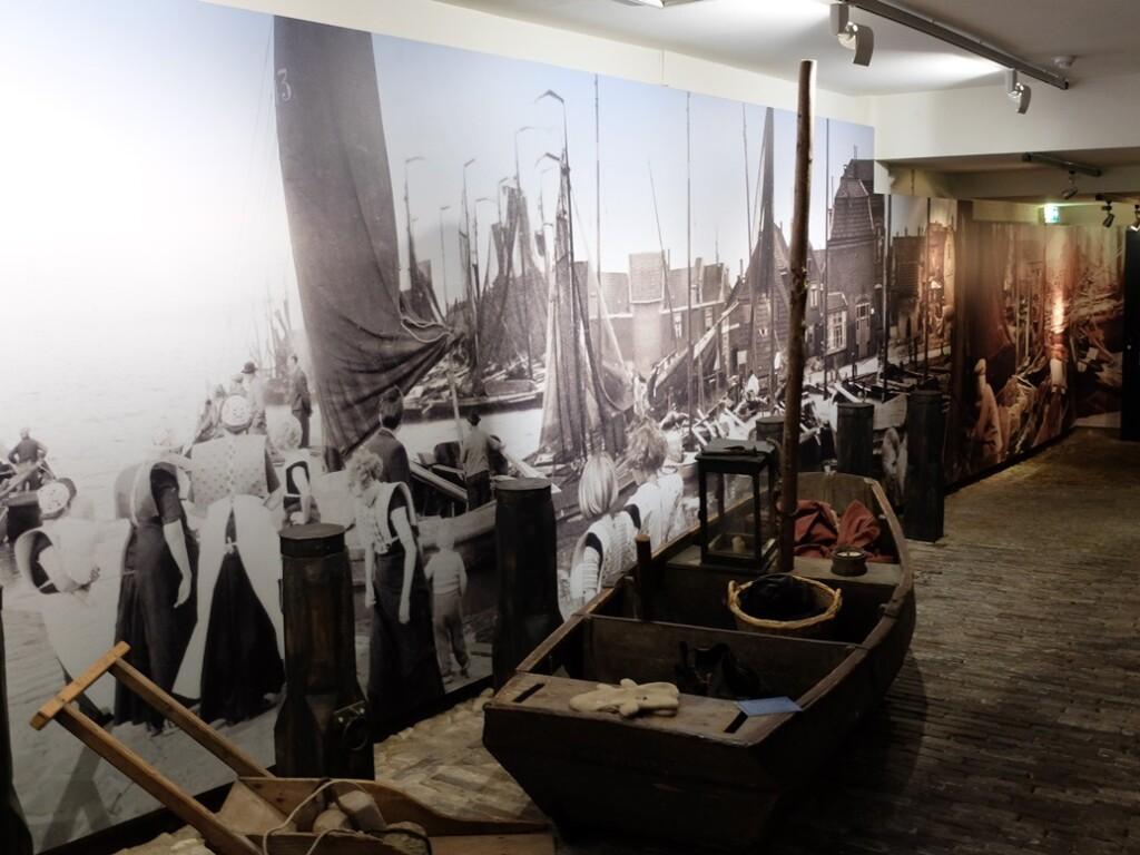 Vissersboot in Museum Spakenburg