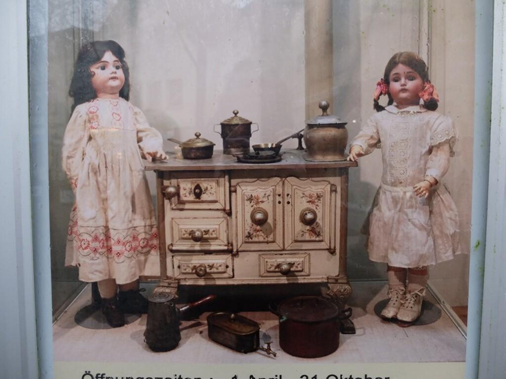 Aankondiging poppenmuseum Tecklenburg