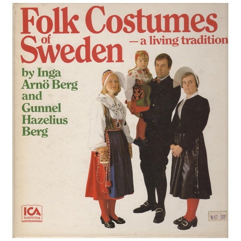 Boek Folk Costumes Sweden