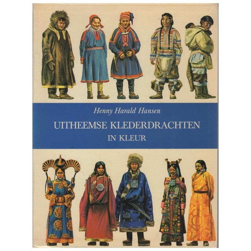 Boek Uitheemse klederdrachten in kleur