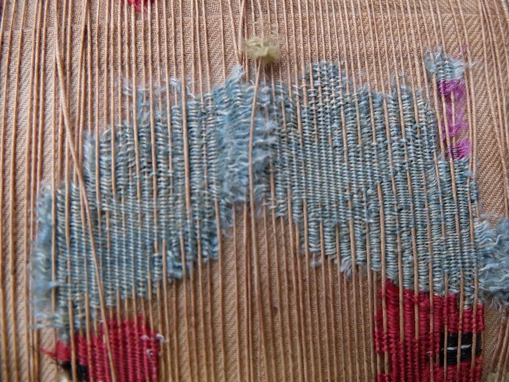 Detail antiek kussentje