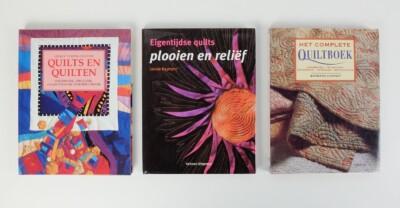 Drie boeken over quilten
