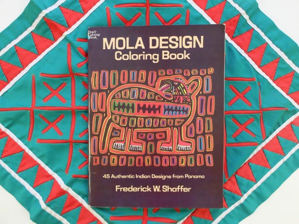 Mola Design Coloring Book