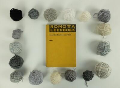 Nomotta leerboek voor handwerken van wol
