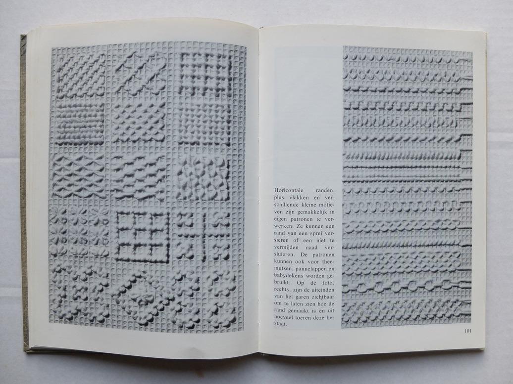 Pagina Borduren wit op wit