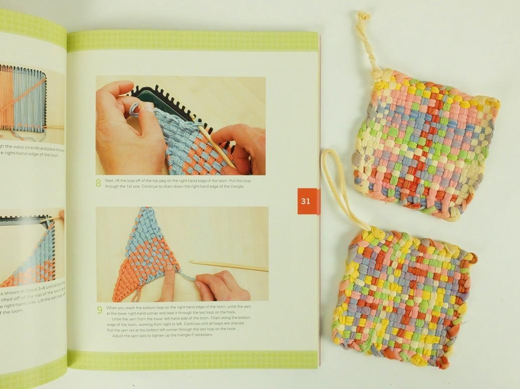 Pagina uit boek the Woven Bag