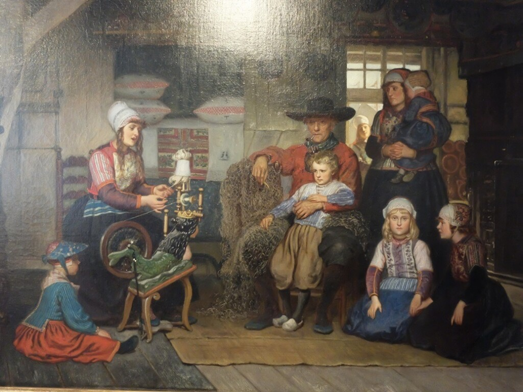 Schilderij Adolf Alexander Dillens, Marker interieur