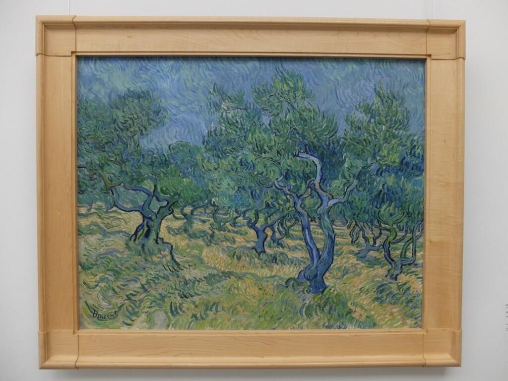 Schilderij van Gogh Olijfgaard