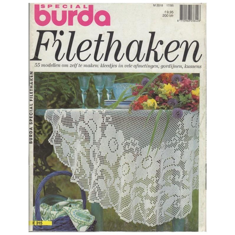 Tijdschrift Burda Filethaken