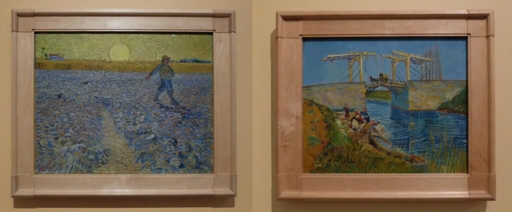 Twee schilderijen Van Gogh