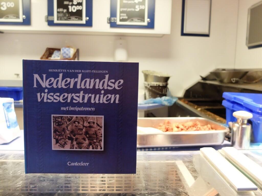 Boek Nederlandse visserstruien