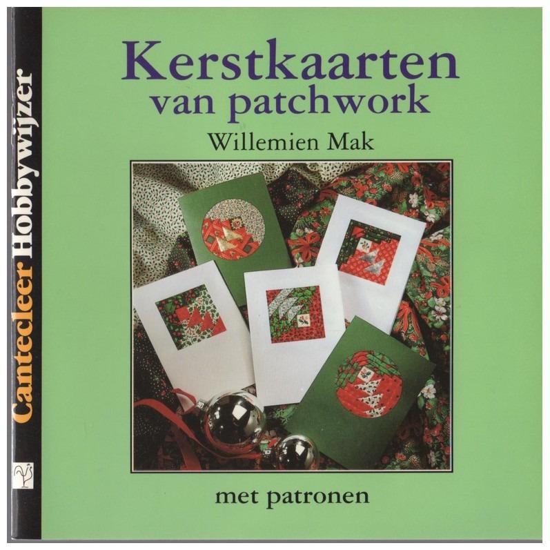 Boekje Kerstkaarten van patchwork