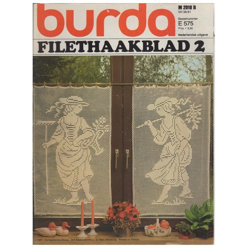 Burda Filethaakblad 2
