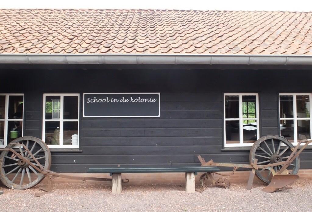 Lagere school in kolonie Frederiksoord