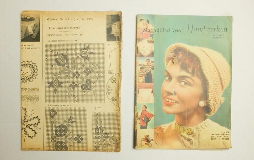 Maandblad voor handwerken feb. 1956