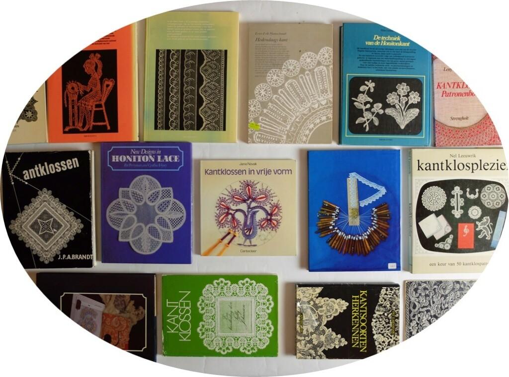 Oude Boeken kantklossen