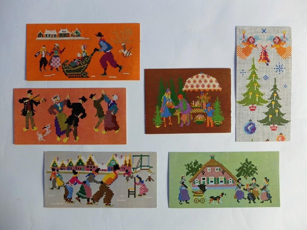 Oude kaarten Voor het kind ontwerp Mies Bloch
