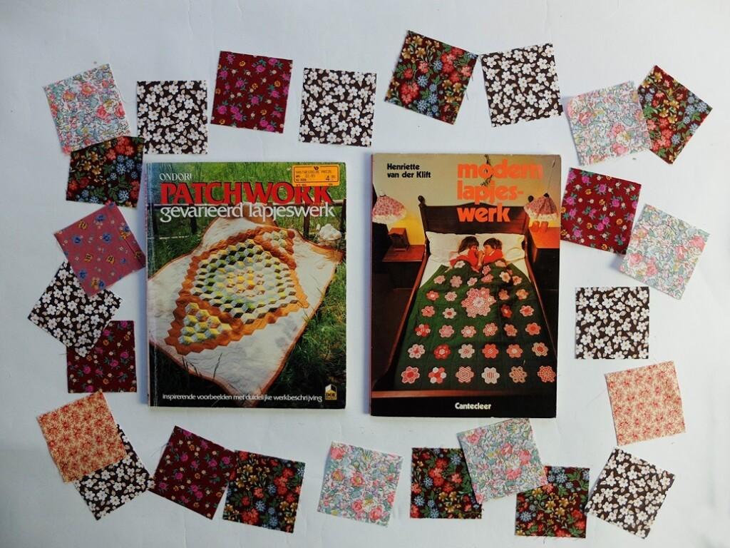 Oude patchworkboeken