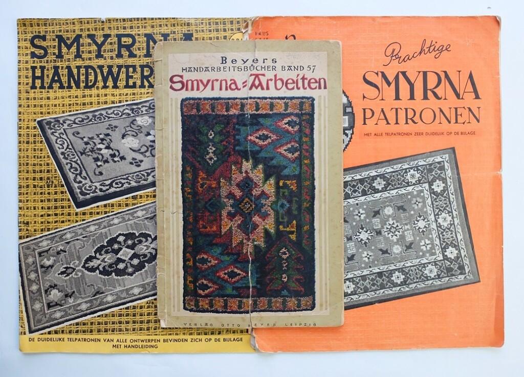 Oude patronenboekjes Smyrna