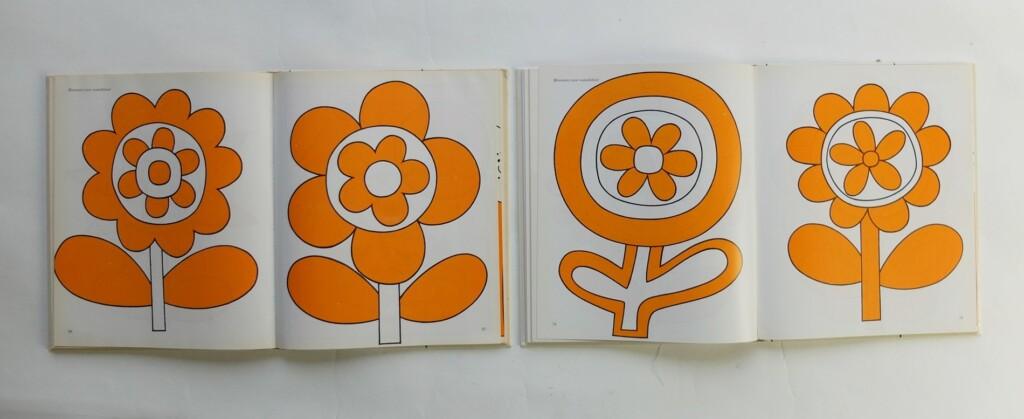 Pagina uit boek nieuwe borduurideeën