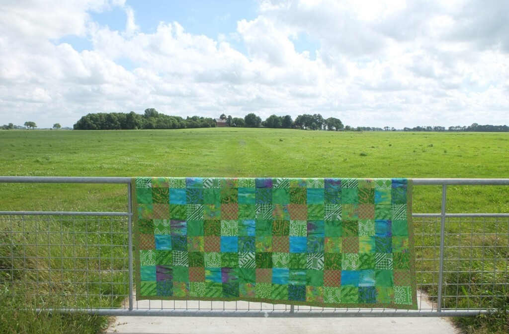 groene quilt