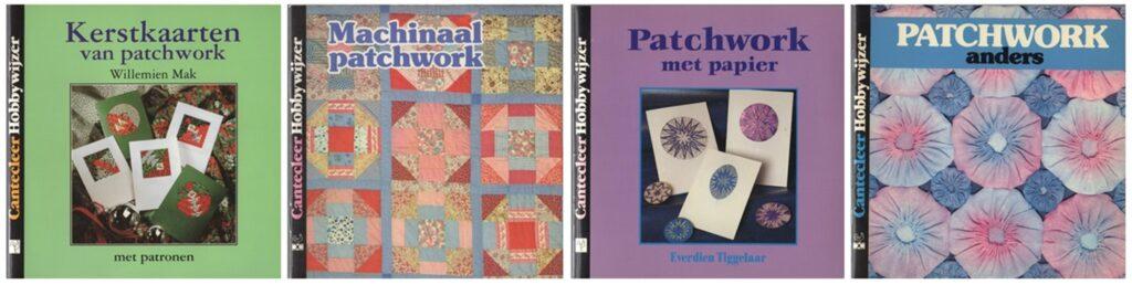 vier boekjes patchwork