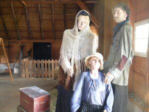 weergave arm gezin in Frederiksoord