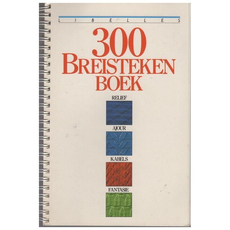 Boek 300 breisteken