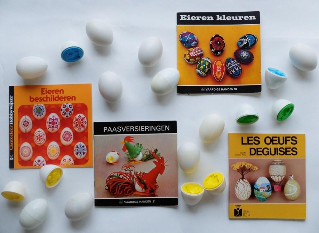 Boekjes eieren verven