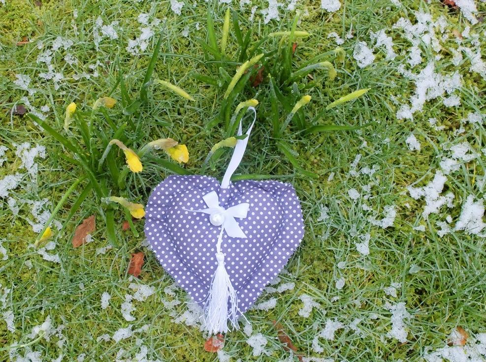 Kussentje in sneeuw