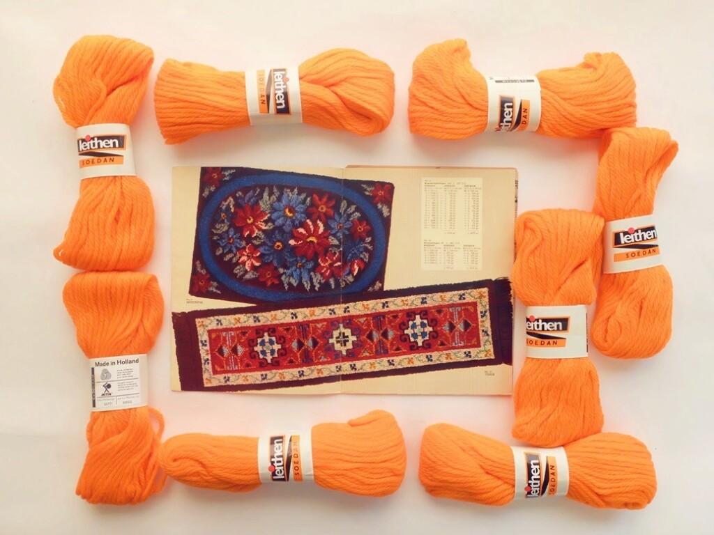 Oranje Soedan wol