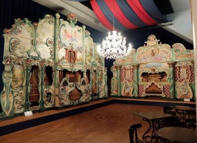 Orgels in museum Speelklok