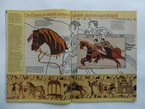 Pagina uit tijdschrift Handwerken Bayeux