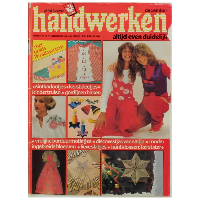 Tijdschrift Handwerken december 1979