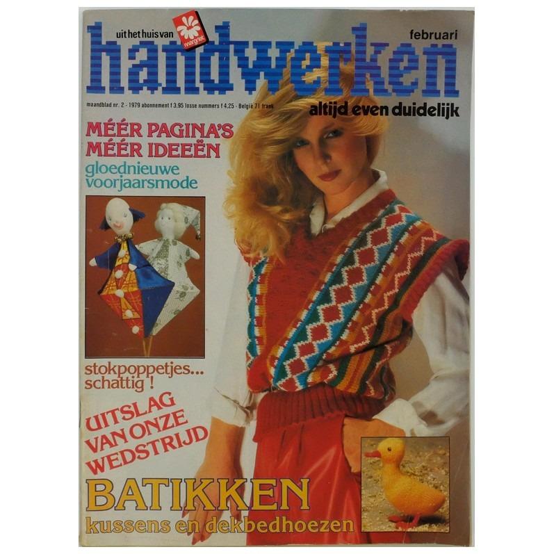 Tijdschrift Handwerken februari-1979