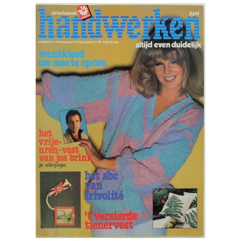 Tijdschrift Handwerken juni 1978