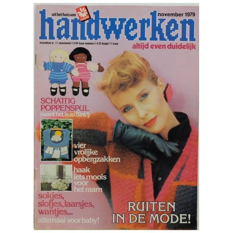 Tijdschrift Handwerken november 1979