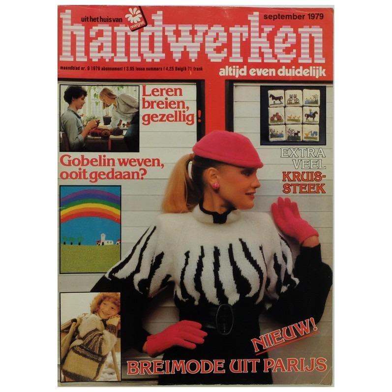 Tijdschrift Handwerken september 1979
