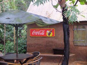 coca cola reclame in Burgers Zoo