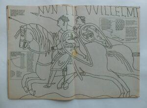 Patroon Bayeux uit tijdschrift Handwerken