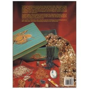 Achterkant boek Goud en zilver borduren