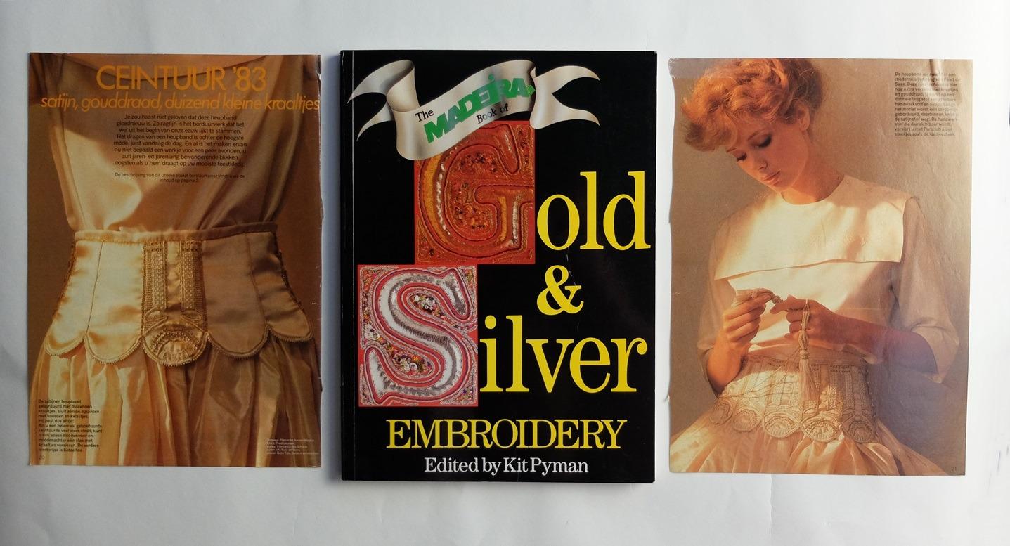 Boek en patroon Goudborduren