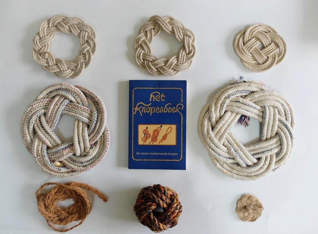 Knopen van touw