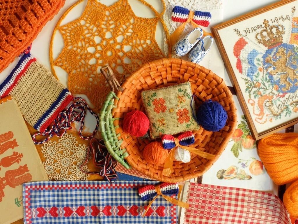 Oranje spulletjes