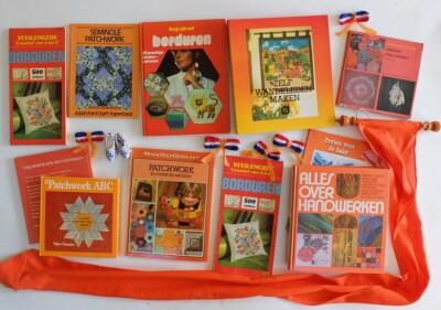 Oude oranje handwerkboeken
