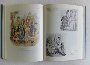 Pagina-uit-Pagina uit Handcoloured Fashion Plates