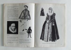 Pagina uit boek Kostuumgeschiedenis